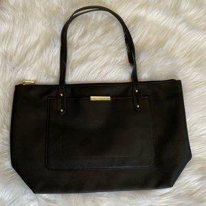 📦5/$20 Faux leather shoulder tote bag